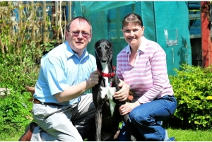 Penny, Armelle and I - Copyright South Wales Evening Post.