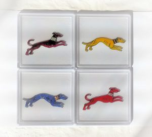 greyhounds, dancing dogs, greyhound art, greyhound picture