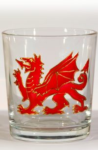 Welsh Glass, Welsh Dragon, Dragon Glass, Welsh Glass, Wales, Red Dragon, Welsh Dragon