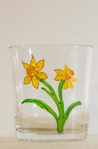 Welsh Daffodil, Daffodil Glass, Welsh Daffodil Glass