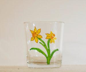 Welsh Daffodil, Daffodil Glass, Welsh Daffodil Glass