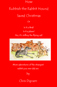 Christmas, Santa Claus, Christmas story, greyhound, greyhound story, dog book, Welsh writer, Welsh Authors
