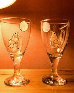 Celtic, Celtic Hares, Mystic Hares, Celtic Myths, Handmade glassware, Welsh Glassware