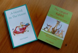 Hound in the House, Greyhound Books, Largest Rabbit, Crafty Dog, Crafty Dog Books,