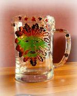 Autumn Man, Autumn Green Man, Celtic Glass, Celttc Myths, Beltane