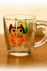 Owl Glass, Welsh Gifts, Welsh Glass, Owl Art, Owls, Owl, Welsh Owls