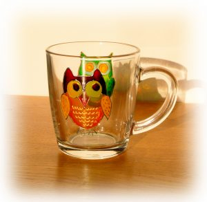 Owl Glass, Welsh Gifts, Welsh Glass, Owl Art, Owls, Owl, Welsh Owls