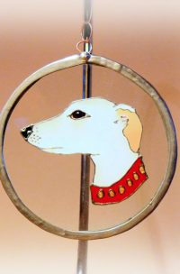 Welsh art, Welsh Gifts, Dog art, Dog gifts, greyhound, greyhound art, greyhound glass, Welsh art