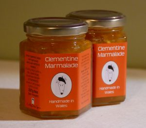 Welsh Jam, Welsh Marmalade, Clementine Marmalade, Welsh Preserves, Welsh Products, Welsh Food