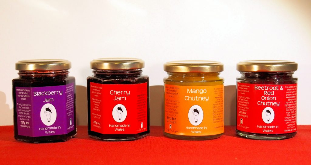Welsh Jam, Welsh Chutney, Chutneys, Welsh food, Welsh products