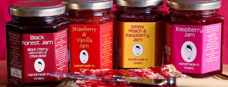 Welsh Jam, Wales Jam, Jam, Made in Wales, Taste of Wales
