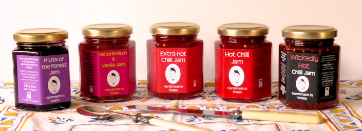 Wales Jam, Taste of Wales, Welsh Jam, Made in Wales, Wales produce