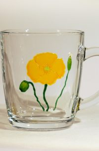 Wales, Welsh, Welsh Poppy, Meconopsis Cambrica, Made in Wales, Welsh Art, Wales Art