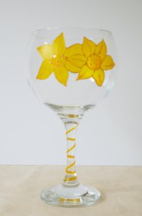 Daffodil, Welsh Emblem, Welsh Glass, WElsh Flower, Welsh Gin, Wales Gin