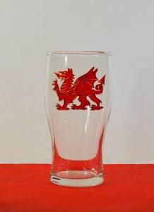 Wales, Welsh Dragon, Dragon Pint, Welsh Glass, Welsh Pint, Welsh Beer, Wales Beer, Welsh Cider, Cider Glass, DRagon Glass