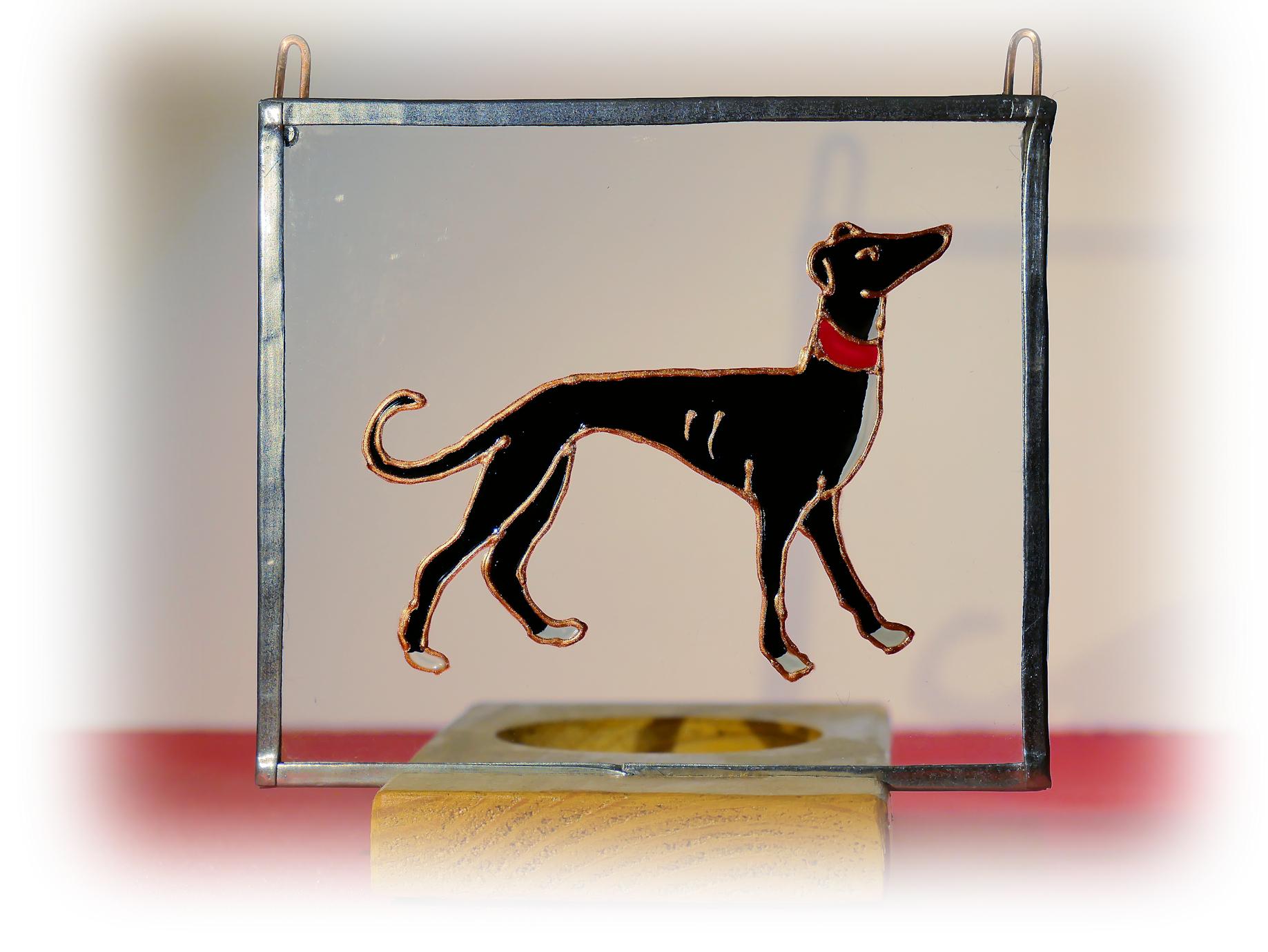 greyhound, medieval greyhound, greyhound glass, greyhound art, greyhound image