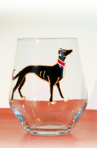 Greyhound, Greyhound glass, Walesh Glass, Greyhound Art, Medival Greyhounds