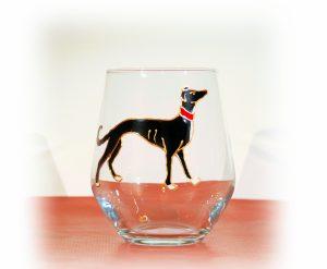Greyhound, Greyhound glass, Walesh Glass, Greyhound Art, Medival Greyhounds