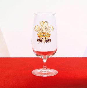 Welsh Glass, Wales Glass, Three Feathers Glass, 3 Feathers Glass, 3 Feathers, Three Featthers, Prince of Wales Glass