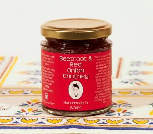 Welsh Food, Made in Wales, Taste of Wales, Handmade in Wales, Welsh Chutney, Beetroot, Regional Food, Handmade in Wales