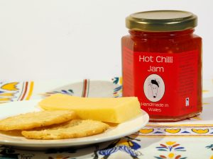 Chilli Jam, Crafty Dog Jam, Hot Chilli Jam, Sweet Chilli Jam, Made in Wales, Welsh Jam, Craftyed in Wales