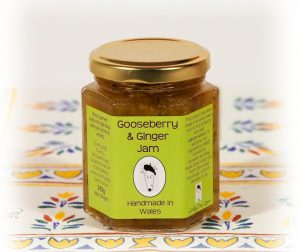 Welsh Food, Welsh Jam, Gooseberry Jam, Made in Wales, Flavours of Wales, Welsh Food, Welsh Preserves, Crafted in Wales