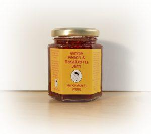 Welsh Jam, Peach Jam, Rspberry Jam, Taste of Wales, Made in Wales
