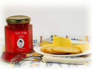 Chilli Jam, Welsh Jam, MAde in Wales, Welsh Jams, Welsh Preserves, Handmade in Wales
