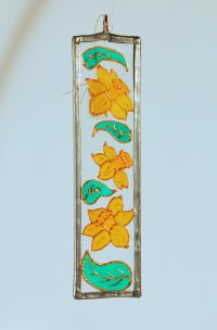 Daffodil, Welsh Daffodil, Daffodil Suncatcher, Welsh Gift, Welsh Gifts, Made in Wales