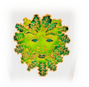 The Green Man, Green Man, Celtic Glass, Pagan Glass, Mystic Design, Welsh glass, Welsh gifts, Welsh giftware, Welsh shop, Welsh Crafts, Crafts