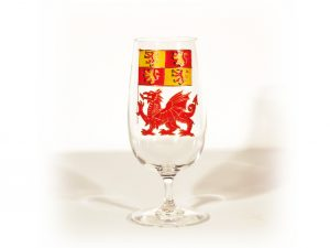 Welsh Gift, Welsh Glass, Dragon Glass, Owain Glyndwr, Owen Glendower, Welsh Art