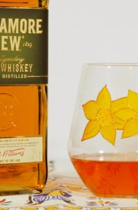 Welsh Gift, Welsh Gifts, Welsh Glass, Daffodil, Daffodil Art, Daffodil Glass, Welsh Daffodil glass, Whisky Glass