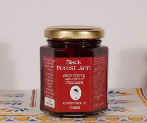 Black Forest, Welsh Jam, Crafty Jam. Craft Food, Welsh Food, Welsh Flavours, TAste of Wales, MAde in Wales