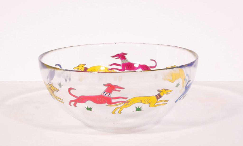 Dancing Dogs, Greyhounds, Greyhound Art, Greyhpund Glass, Hound Glass, Dog Art, Dog designs, Greyhound Glassware, Greyhound Glass, Crafty Dog Glass, Made in Wales, Handcrafted, Handcrafted in Wales