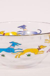 Welsh Glassware, Greyhiund Glss, Greyhound Art, Art Glass, Greyhound design