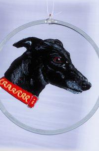 black greyhound, greyhound art,greyhound glass,lurcher,greyhound,greyhounds,dog glass,greyhound suncatcher,black greyhounds,